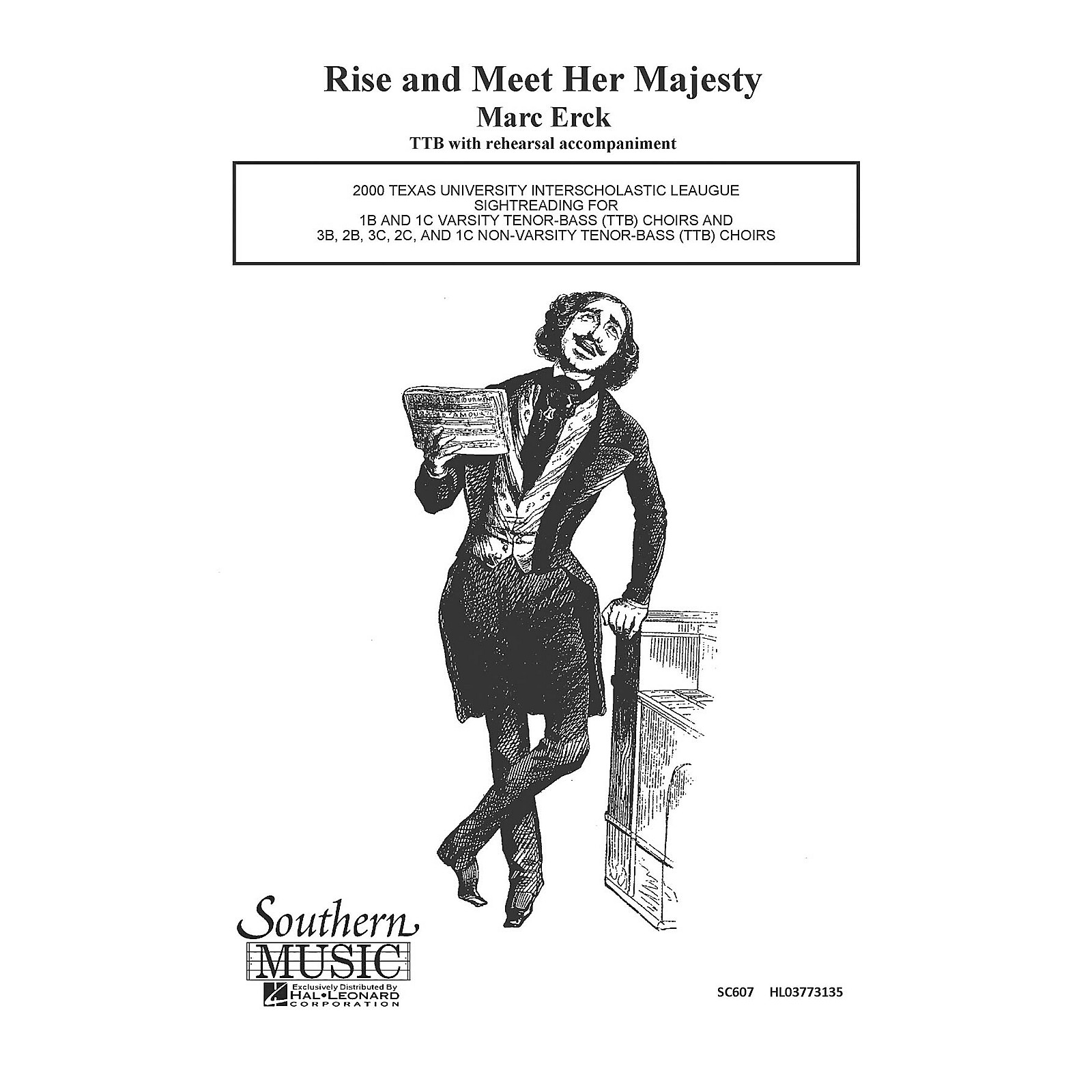 Hal Leonard Rise And Meet Her Majesty (Choral Music/Octavo Sacred Ttb) TTB Composed by Erck, Marc