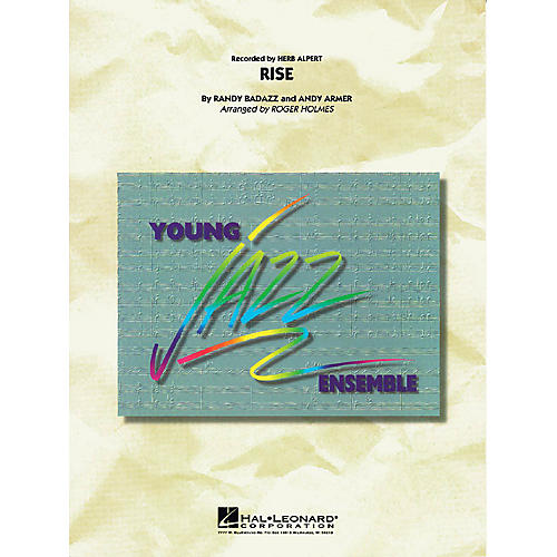 Hal Leonard Rise Jazz Band Level 3 by Herb Alpert Arranged by Roger Holmes