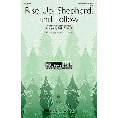 Hal Leonard Rise Up, Shepherd, and Follow (Discovery Level 3) 2-Part Arranged by Rollo Dilworth