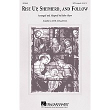 Hal Leonard Rise Up Shepherd and Follow SATB a cappella arranged by Kirby Shaw