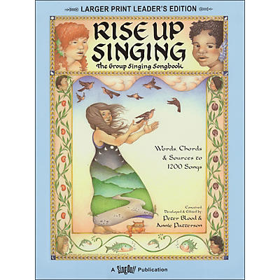 Hal Leonard Rise Up Singing (Large Print Edition) with Spiral Binding