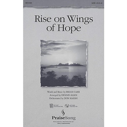 PraiseSong Rise on Wings of Hope IPAKO Arranged by Don Marsh