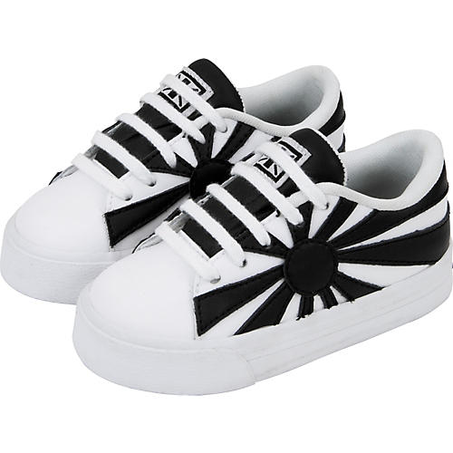 T.U.K. Rising Sun Leather Baby Sneakers