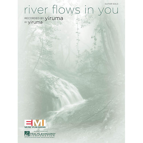 Hal Leonard River Flows in You Guitar Sheet Series Performed by Yiruma