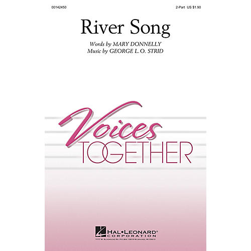 Hal Leonard River Song 2-Part composed by Mary Donnelly