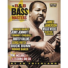 Backbeat Books R'n'B Bass Masters - The Way They Play (Book/CD)