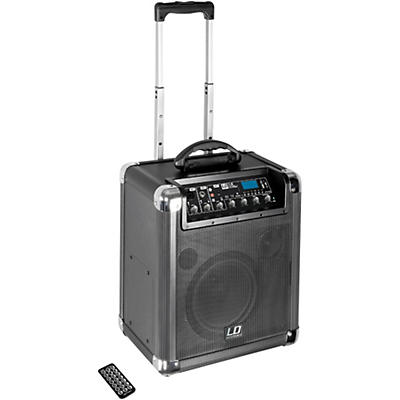 """LD Systems Road Jack 8 Active 8"""" Battery Bluetooth Loudspeader with Mixer"""