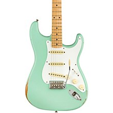 Road Worn Limited Edition '50s Stratocaster Electric Guitar Surf Green