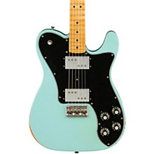 Road Worn Limited Edition '70s Telecaster Deluxe Electric Guitar Daphne Blue