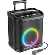 Harbinger RoadTrip 100 Mobile Sound System with Lights, Microphone, and Battery Power