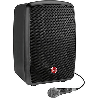 Harbinger RoadTrip 25 8 in. Battery-Powered Portable Speaker With Bluetooth and Microphone