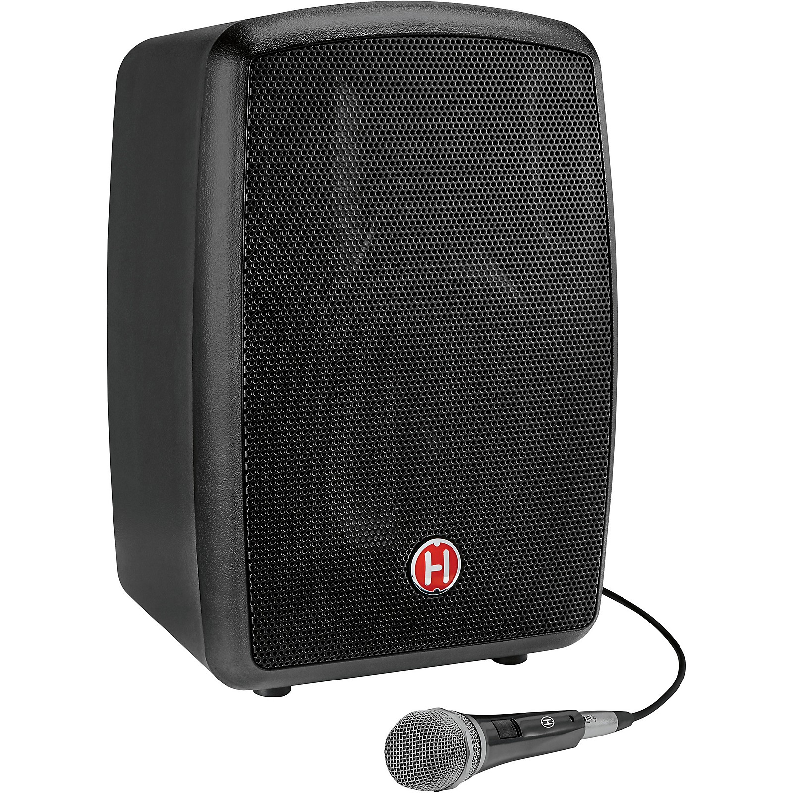 Harbinger RoadTrip 25 8in. Battery-Powered Portable Speaker with Bluetooth and Microphone