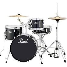 Roadshow 4-Piece Jazz Drum Set Jet Black
