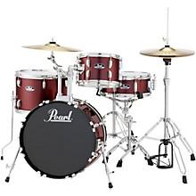 Roadshow 4-Piece Jazz Drum Set Wine Red