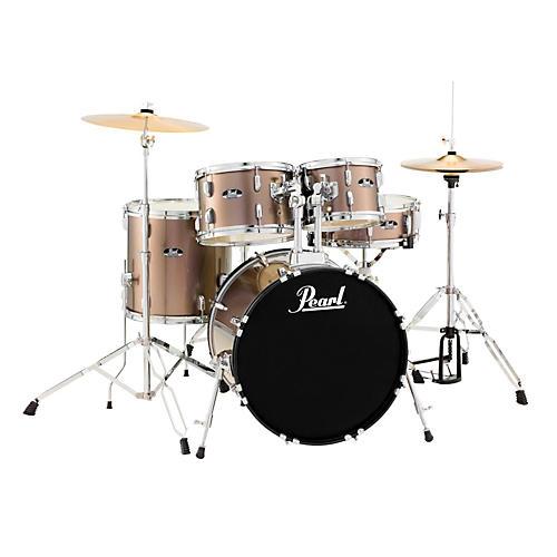 Pearl Roadshow 5-Piece Fusion Drum Set Bronze Metallic