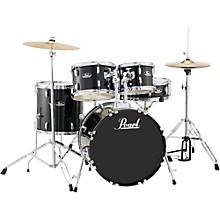 Roadshow 5-Piece Fusion Drum Set Jet Black
