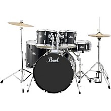 Roadshow 5-Piece New Fusion Drum Set Jet Black