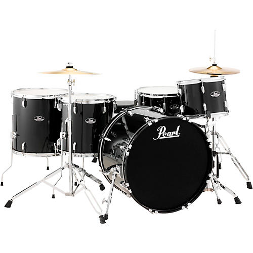 Roadshow 5-Piece Rock Drum Kit - Cymbals Not Included