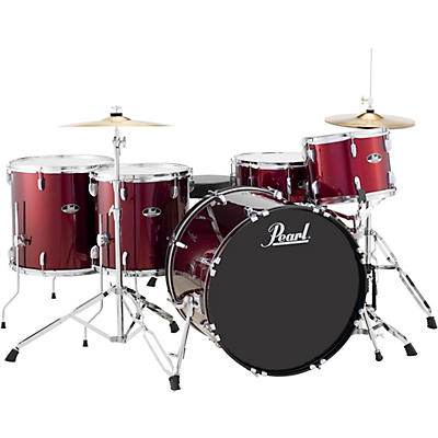 Pearl Roadshow 5-Piece Rock Drum Kit - Cymbals Not Included