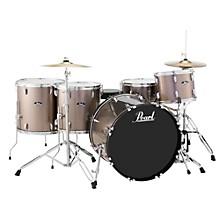 Roadshow 5-Piece Rock Drum Set Bronze Metallic