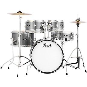 pearl roadshow jr drum set with hardware and cymbals grindstone sparkle musician 39 s friend. Black Bedroom Furniture Sets. Home Design Ideas