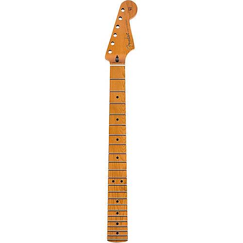 Fender Roasted Stratocaster Neck Flat Oval Shape, Maple Fingerboard