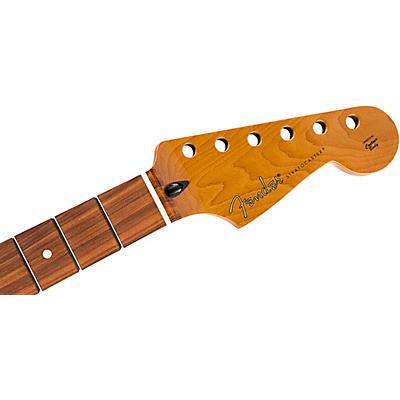 Fender Roasted Stratocaster Neck Flat Oval Shape, Pau Ferro Fingerboard