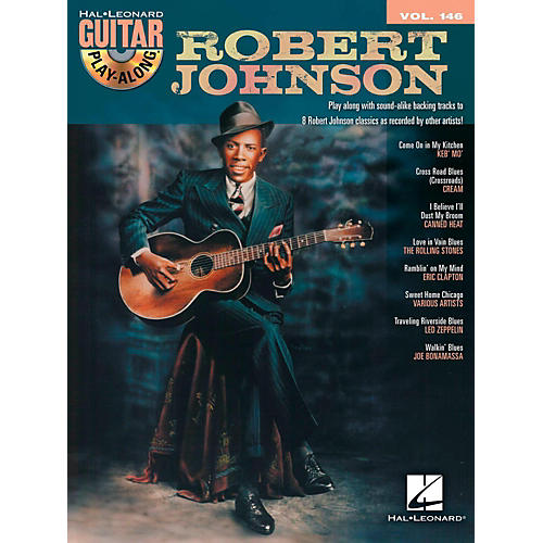 Hal Leonard Robert Johnson - Guitar Play-Along Volume 146 Book/CD