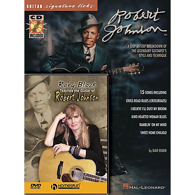 Homespun Robert Johnson Bundle Pack Homespun Tapes Series Written by Rory Block
