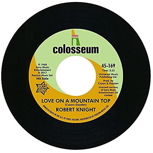 Alliance Robert Knight - Love On A Mountain Top / Everlasting Love
