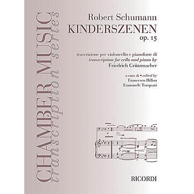 Ricordi Robert Schumann - Kinderszenen, Op. 15 (Cello and Piano) MGB Series Softcover
