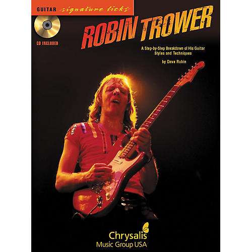 Hal Leonard Robin Trower Guitar Signature Licks (Book/CD)