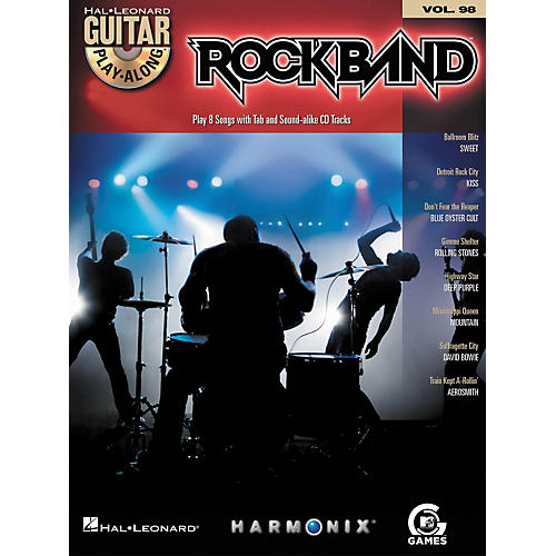 Hal Leonard Rock Band - Classic Rock Edition - Guitar Play-Along Volume 98 Book/CD Set