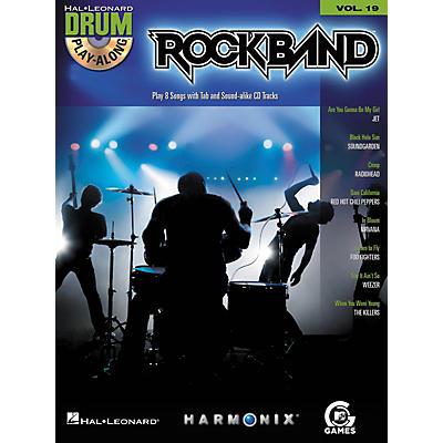 Hal Leonard Rock Band - Modern Rock Edition - Drum Play-Along Volume 19 Book/CD Set