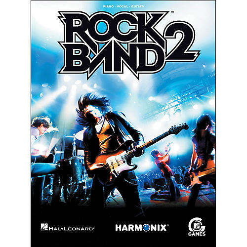 Hal Leonard Rock Band 2 arranged for piano, vocal, and guitar (P/V/G)