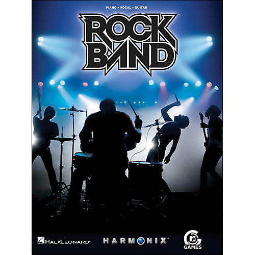 Hal Leonard Rock Band arranged for piano, vocal, and guitar (P/V/G)
