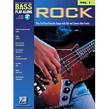 Hal Leonard Rock Bass Guitar Play-Along Series Book with CD