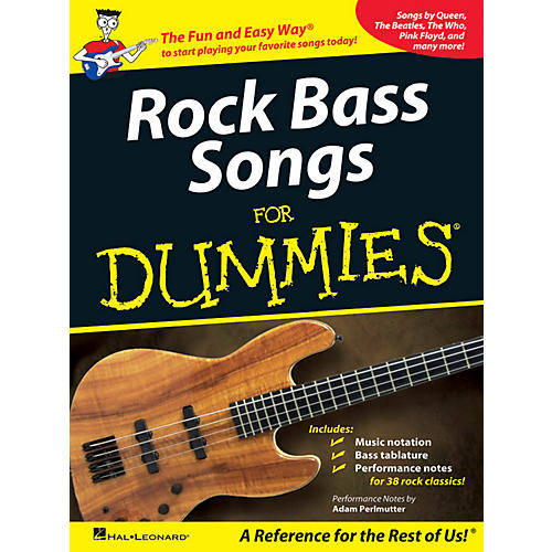 Hal Leonard Rock Bass Songs For Dummies