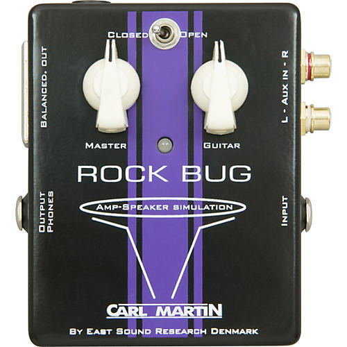 Carl Martin Rock Bug Headphone Guitar Amp and Speaker Simulator Condition 1 - Mint