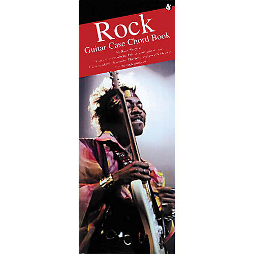 Music Sales Rock Guitar Case Chord Book Music Sales America Series Softcover Written by Russ Shipton