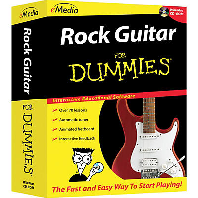eMedia Rock Guitar For Dummies CD-ROM