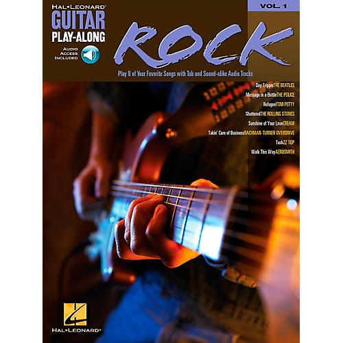Hal Leonard Rock Guitar Play-Along Book with CD Volume 1