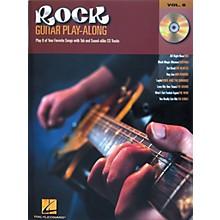 Hal Leonard Rock Guitar Play Along Series Book with CD
