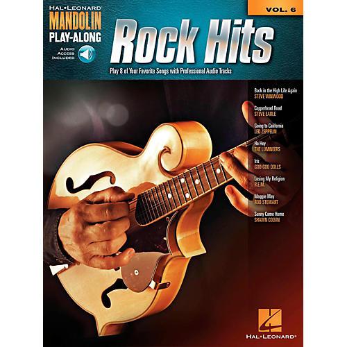 Hal Leonard Rock Hits - Mandolin Play-Along Volume 6 Book/Online Audio
