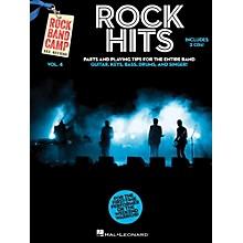 Hal Leonard Rock Hits - Rock Band Camp Vol. 4 (Book/2-CD Pack) Vocal, Guitar, Keys, Bass, Drums