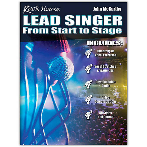 Rock House Rock House Lead Singer - Complete Course for All Singers Book/Media Online