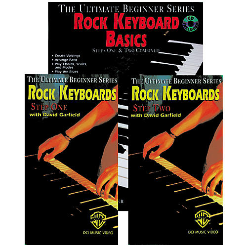 Alfred Rock Keyboard Basics Mega Pak Book/CD/Video