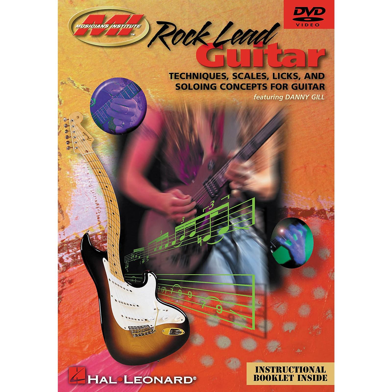 Musicians Institute Rock Lead Guitar (DVD)