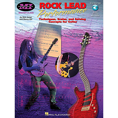Musicians Institute Rock Lead Performance (Book/CD)
