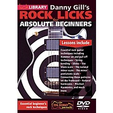 Hal Leonard Rock Licks For Absolute Beginners - Lick Library DVD